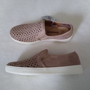 Sonoma Critique Perforated Slip On Shoes